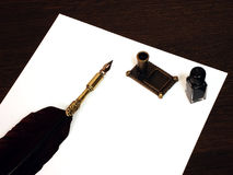 Pen and ink Stock Images