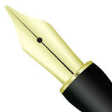 Pen ink pens Stock Image