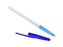 Pen Isolated auf weißem Hintergrund, Wiedergabe 3D Stockbilder