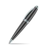 Pen isolated on the white background Stock Photography
