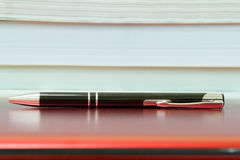 Pen and Laptop Stock Images