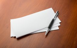 Pen and letters Royalty Free Stock Image