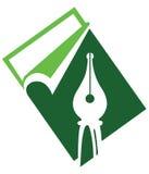 Pen logo Stock Image
