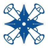 Pen Loudspeaker Symbol Fotografía de archivo libre de regalías