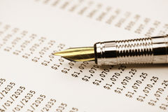 Pen macro Royalty Free Stock Images