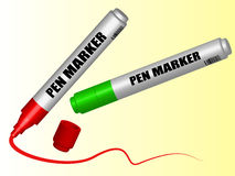Pen Markers Stock Images