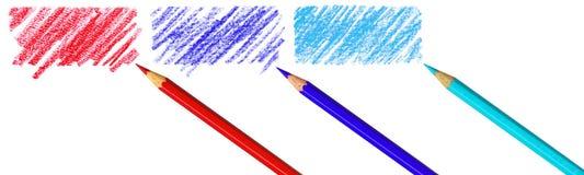 Pen met gekrabbel Royalty-vrije Illustratie