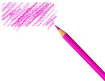 Pen met gekrabbel royalty-vrije stock foto's