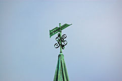 Pen Nib Weathervane Stock Image