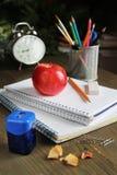Pen on a notebook Stock Photos