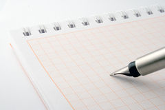 Pen & notebook Royalty Free Stock Photo