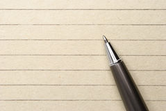 Pen and notebook Royalty Free Stock Photo