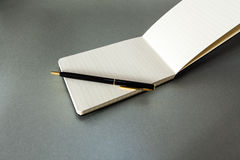 Pen & Notepad Stock Photos