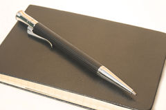 Pen on Notepad royalty free stock image