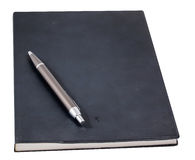 Pen op het boek Royalty-vrije Stock Afbeelding