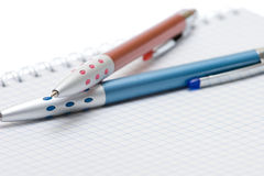 Pen and paper Royalty Free Stock Photo