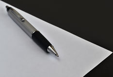 Pen and paper Stock Images