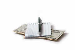 Pen and papers. Stock Photo