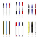 Pen, Pencil, and Marker Royalty Free Stock Photos