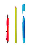 Pen, Pencil, Marker Stock Images