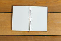 Pen, pencil and notepad. flat lay style Royalty Free Stock Images
