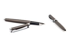 Pen and pencil set Royalty Free Stock Image