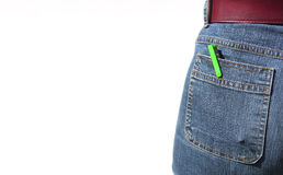 Pen in pocket Stock Image