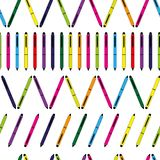 Pen repetition Royalty Free Stock Photos