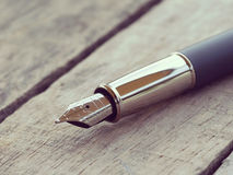 Pen retro vintage style Stock Photo
