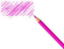 Pen with scribbles Royalty Free Stock Photos