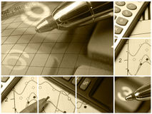 Pen (sepia) Stock Photo