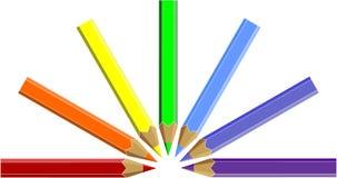 Pen set color 05 Stock Photo