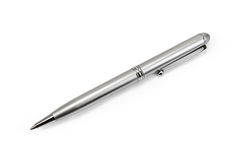 Pen silver Royalty Free Stock Image