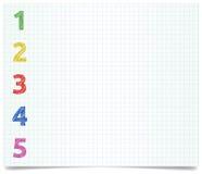 Pen-style-1-2-3-4 Lizenzfreie Stockbilder