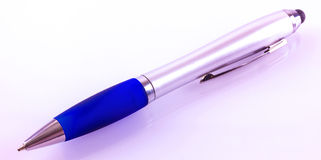 Pen with stylus Royalty Free Stock Photos