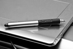 Pen tablet Stock Image