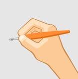 Pen ter beschikking Stock Afbeeldingen