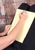 Pen to Paper Stock Photography
