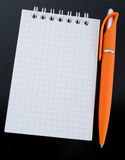Pen to paper Royalty Free Stock Image