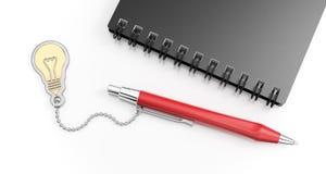 Pen For un genio Fotografie Stock Libere da Diritti