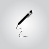 Pen - Vector icon Royalty Free Stock Image