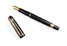 Pen on white royalty free stock photos