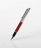Pen on a white background Royalty Free Stock Photo
