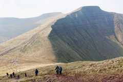 Pen y Fan, Brecon Beacons National Park, South Wales Royalty Free Stock Photography