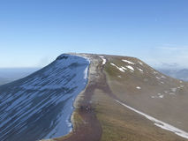 Pen-Y-Fan Peak stock photography