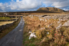 Pen-y-Ghent in Yorkshire Dales Royalty Free Stock Photography
