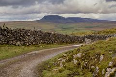 Pen-Y-Ghent in the Yorkshire Dales royalty free stock images