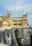 Pena宫殿, sintra,葡萄牙 免版税图库摄影