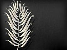 Pena abstrata do metal ilustração royalty free