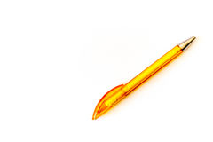 Pena amarela Foto de Stock